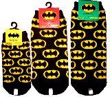 子供服 ◆$A▲13〜27�p メンズまであるよ バットマン:ロゴ総柄 くつ下¥380★