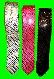 子供服 $★ARF★ スパンコール:ネクタイ ダンスの衣装に・・・ ★大人用フリーサイズ