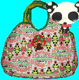 子供服 ◆◆◆★多機能!パンダちゃん マザーズバッグ 使ったオムツを入れるポケット付き