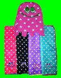 子供服 $RF88A ★マイクロファイバー:おばけちゃん♪ ハンドタオル カラー4種類あるよ〜