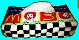 子供服 ※モ99T ★BOXティッシュケース ★マック:ドナルド★