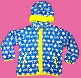 子供服 ●$RFA88 ギャオスバットマン♪スター柄 ダウンジャケット 120cm