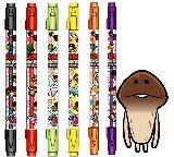 子供服 $※88モA ★なめこ栽培 ダブルマーカーペン 香り付き その2 全8色
