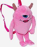 子供服 $※88RFA ★グラウズルズ☆ ぬいぐるみ:モンスターリュック ピンク お子様用