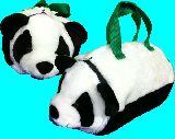 子供服 $※99モRT ★パンダ お人形★ ドラムバッグ