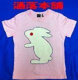 子供服 $セール!!洒落本舗 ●うさぎ Tシャツ