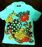 子供服 $セール!!洒落本舗 ●和柄 シャツ 定価¥12600のところ