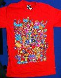 子供服 $※99RA ●ホラー モンスターTシャツ レディースM〜Lサイズ