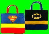 子供服 ★スーパーマン:バットマン★レッスンバッグ