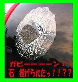 子供服 ◎※88A ★ガビーン!! 石投げられた〜!びっくり シール 立体的!
