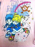 子供服 $※99ARF●レディースSサイズ レインボーブライト ロンT