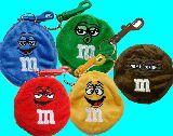 子供服 $★88FAR★ M&M's カラビナ付き コインケース 腰に付けたり、バッグに付けたり