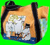 子供服 $※99ノRAF ★ムーミン★ ランチバッグに最適 トートバッグ