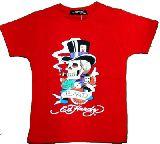 子供服 ●$99ARF★エドハーディー☆(Ed Hardy) Tシャツ アカ ・・130cm