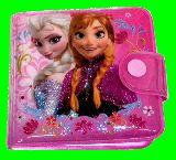 子供服 $※99ノAF ★アナと雪の女王★ ビニール素材 二つ折り財布 [CC」