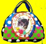 子供服 $a99RTF★ネコちゃん♪おけいこバッグやマザーズバッグにも