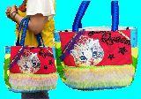 子供服 %※99mFT★たっぷり収納★マグネット付きトートバッグ★ネコちゃん