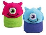 子供服 ◆88RAF ★子供用耳付きメッシュキャップ★エイリアン ピンク:ブルー