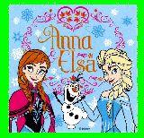 子供服 $※N99ARF ★「アナと雪の女王♪」 ランチクロス
