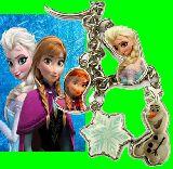 子供服 ◆$▲★アナと雪の女王 メタルチャームキーチェーン