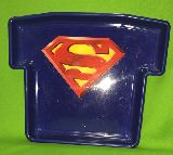 子供服 ジャンク★スーパーマン★ Tシャツみたいな形の 植木鉢トレイ