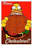 子供服 ♪88FRA★ポスター★シンプソンパパ ハンバーガー ホーマー