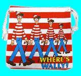 子供服 ◆88NARF★ ウォーリーを探せ★ 両面かわいい巾着