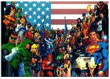 子供服 ※88RA F★ポスター ★ バットマン スーパーマン DCコミック アメコミ ジャスティスリーグ
