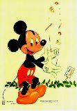 子供服 ▽88mRAF★ポスター★ ちょっとレトロちっくなミッキーマウス