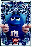 子供服 ▽♪88FRA★ポスター★M&M's:ブルー  エムアンドエムズ  m&m's ブルー