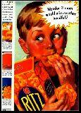 子供服 ※88RA ★ポスター ★ リッツ クラッカー ボーイ