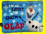 子供服 ○○※88ノFA ★アナと雪の女王/フリースブランケット◎ひざ掛け毛布 オラフ