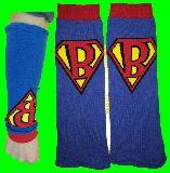 子供服 ※99A 日焼け対策に★ロングリストバンド★ スーパーマンみたいな 大人用