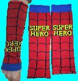 子供服 ※99A 日焼け対策★ロングリストバンド★ スパイダーマンみたいな 大人用