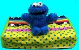 子供服 ※99モTF★BOXティッシュケース ★クッキーモンスター★