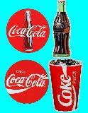 子供服 $※RF99A★ビッグサイズ コカコーラ 防水ステッカー