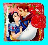 子供服 ※99RAF●白雪姫:プリンセス★ 二つ折りビニール財布[k」