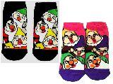 子供服 $RF99A★キュービックマウス:セブンドワークス 7人の小人シリーズ くつ下 22〜24cm