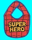 子供服 ♪$RFA88 スーパーヒーロー ビブ スパイダーマン