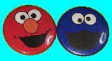 子供服 $$※★RF88A★缶バッヂ ★:エルモ:クッキーモンスター