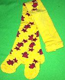 子供服 $ARF★フレンドリー君★タイツ・黄色 85・・110・120cm
