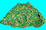 子供服 $ ドリームペッツ スカート グリーン 90・100cm