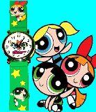 子供服 ◆$※99RAAF※ ★パワーパフガールズの 腕時計