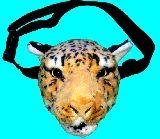 子供服 ◆$88RFA★ガオー!!ヒョウのウエストバッグ 起毛素材だよ♪