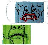 子供服 ◆◎A88RF★花粉症も防げるよ!おもしろマスク♪ドラキュラ・フランケン・