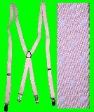子供服 ◎RFA99 ドット サスペンダー:ピンク 大人用フリーサイズ