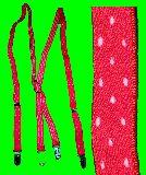 子供服 $RFA99◎ ドット サスペンダー:¥700 大人用フリーサイズ