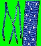 子供服 $※RF99A ◎ ドット サスペンダー:¥700 大人用フリーサイズ