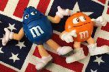 子供服 $88A★M&M's ♪ フィギュア人形 2個セット