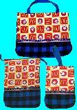 子供服 T★マクドナルド★ 上靴入れ:レッスンバッグ :お着替え袋